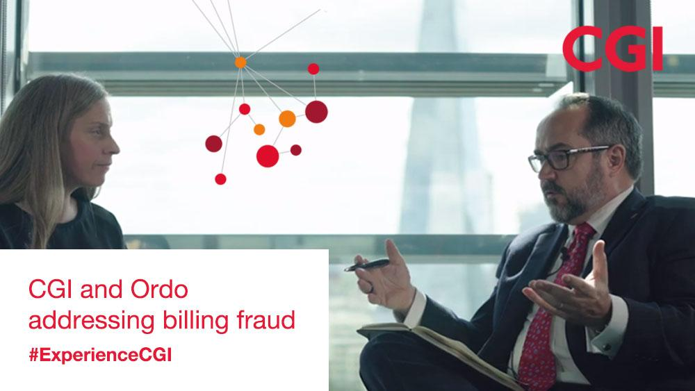 CGI and Ordo addressing billing fraud