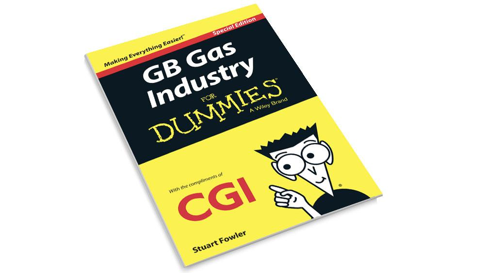 Front cover of the CGI GB Gas Industry for Dummies