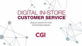 iBeacon solution for Posti mail package pickups