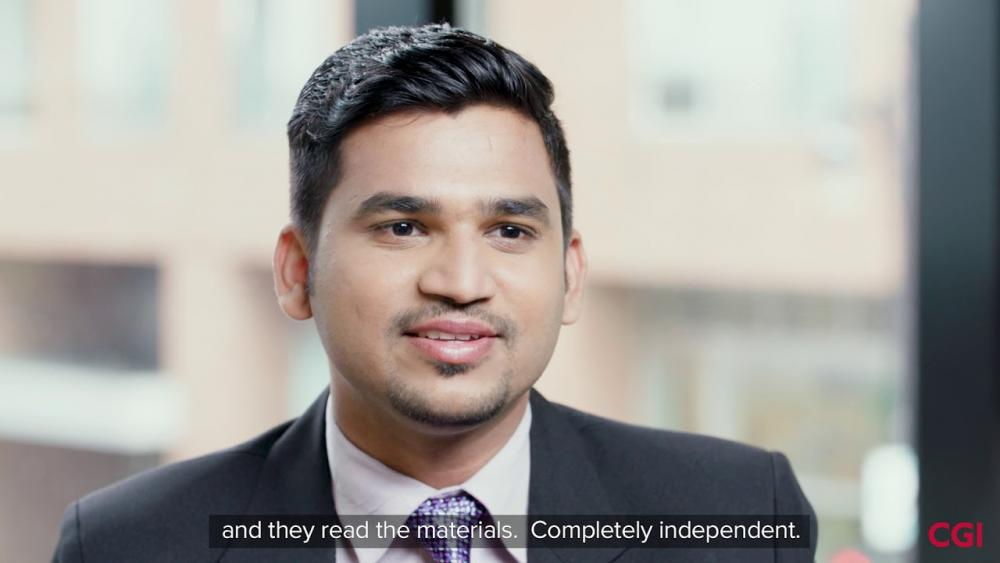 Meet CGI's Dream Connectors: Vivek Raja