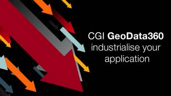 Industrialise your application – GeoData360