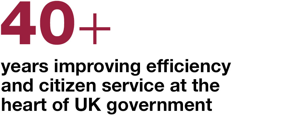 40 plus years improving local government services