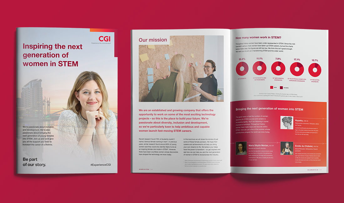 Download the brochure - Inspiring the next generation of women in STEM