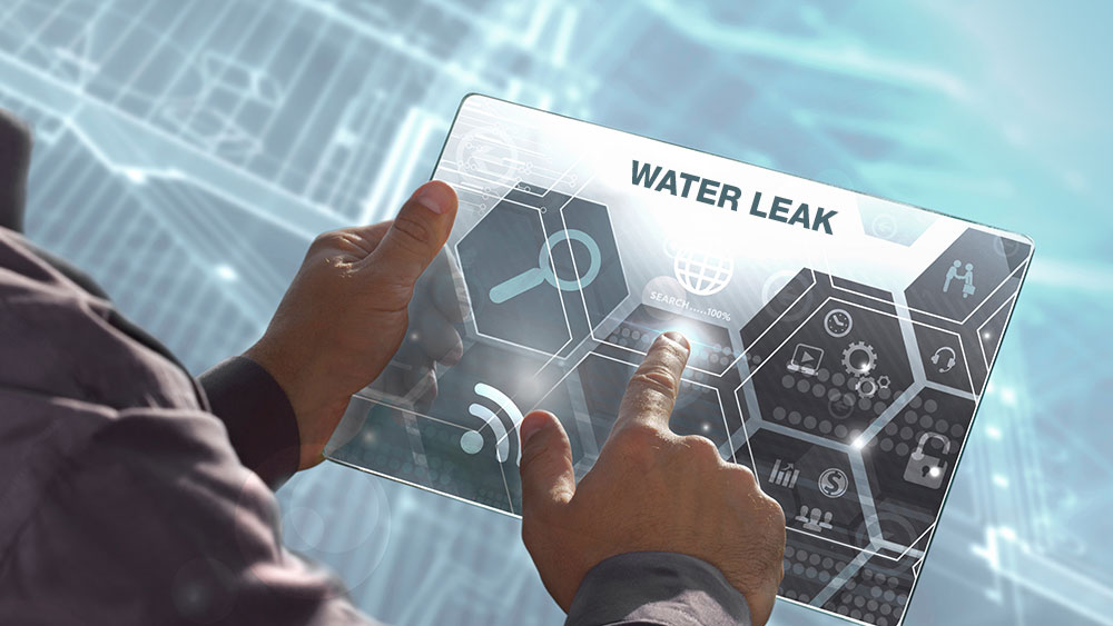utilities big data water leak