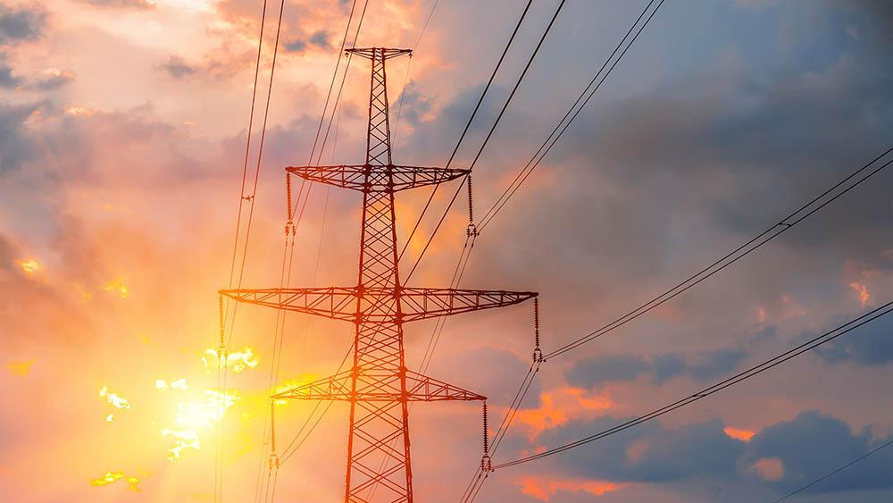 utilities transmission tower