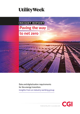 Utility Week insight report – Paving the way to net zero registration form