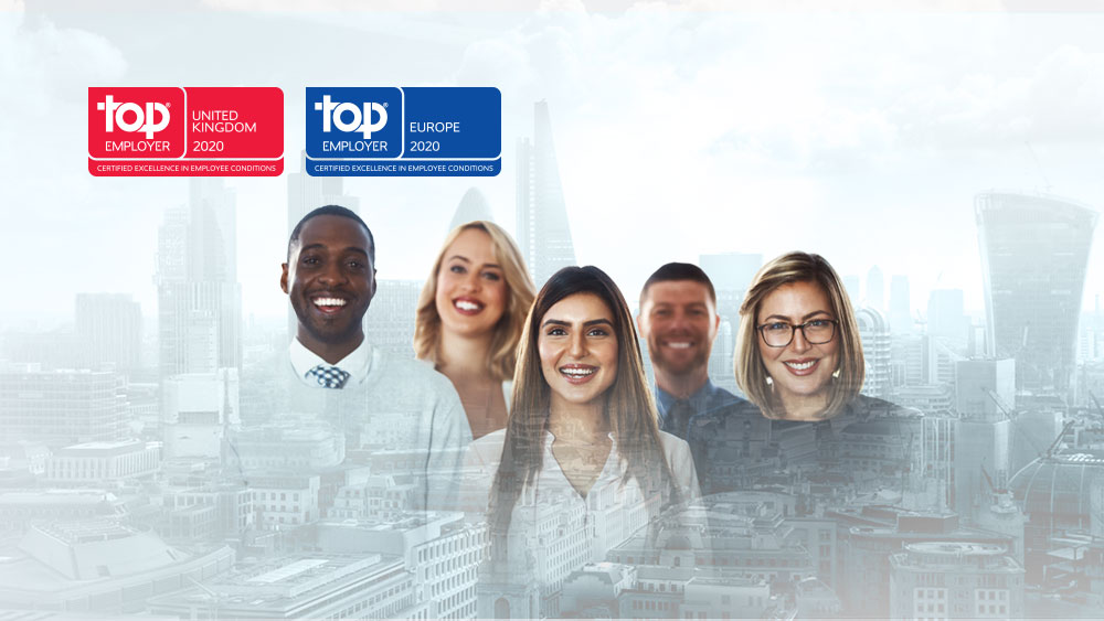 CGI named as Top Employer in the UK for seventh consecutive year
